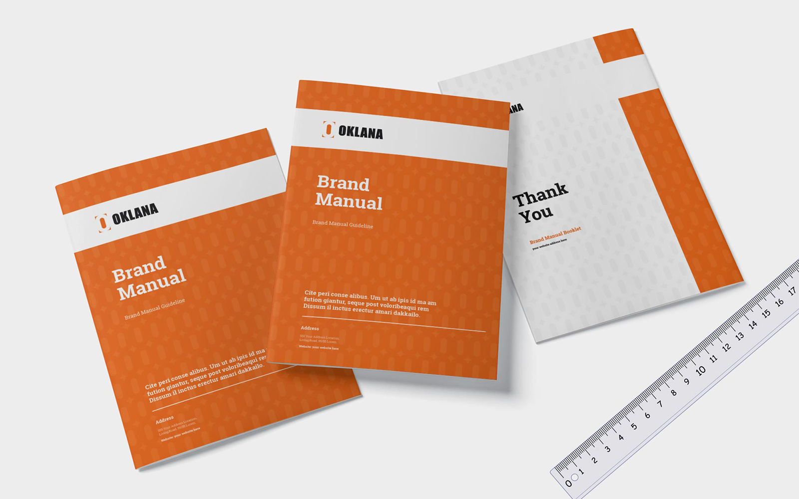 Brand Manual Guideline Brochure Corporate Identity Template