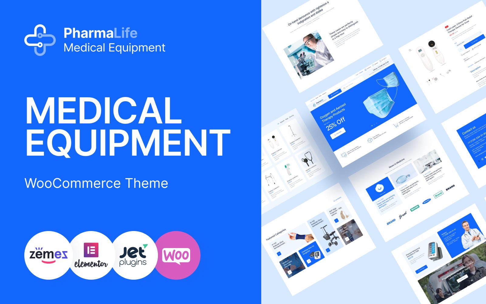 """Tema WooCommerce """"PharmaLife - Pharmacy WooCommerce WordPress Responsive Theme"""" #109217"""