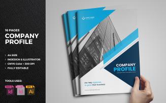 Buzse - 16 Page Company Profile Brochure