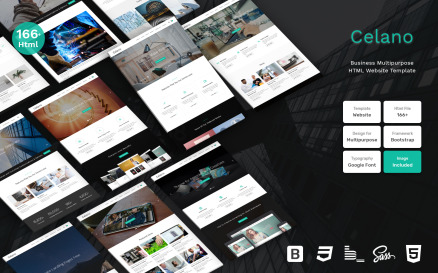 Celano - Business Multipurpose Clean Bootstrap Website Template