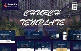 Sacredia | Church & Religions HTML Website Template