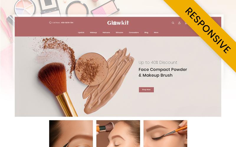 Reszponzív Glowkit - Beauty Store PrestaShop sablon 109593