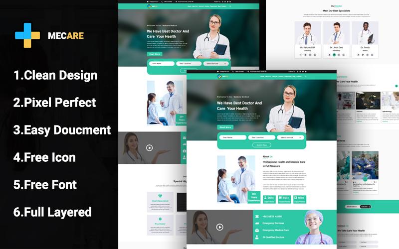 Szablon PSD Mecare Medical #109624