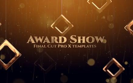 Award Show Final Cut Pro Template