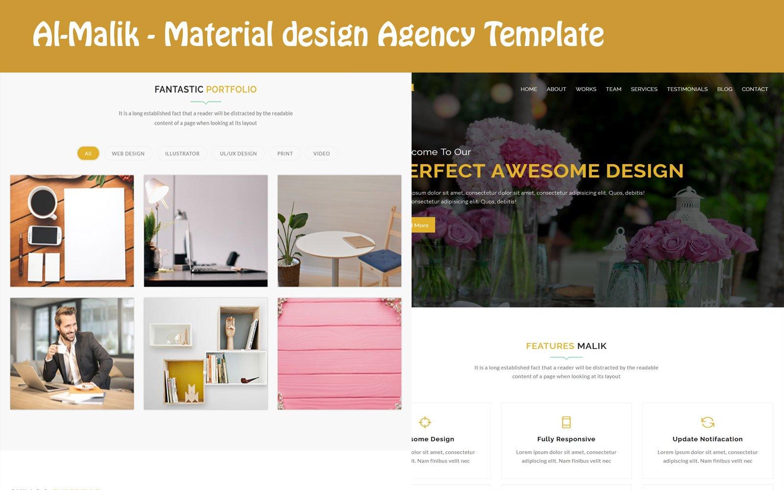 Responsywny szablon Landing Page Al-Malik - Digital Agency HTML #109791