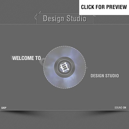 ADOBE Photoshop Template 11021 Home Page Screenshot