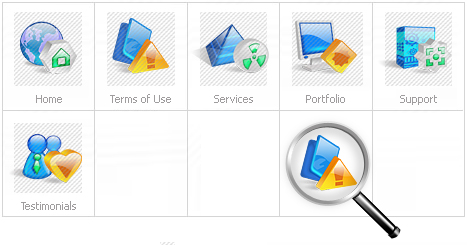 Icon Set Template 11023 Screenshots