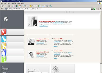 Website Template #11070