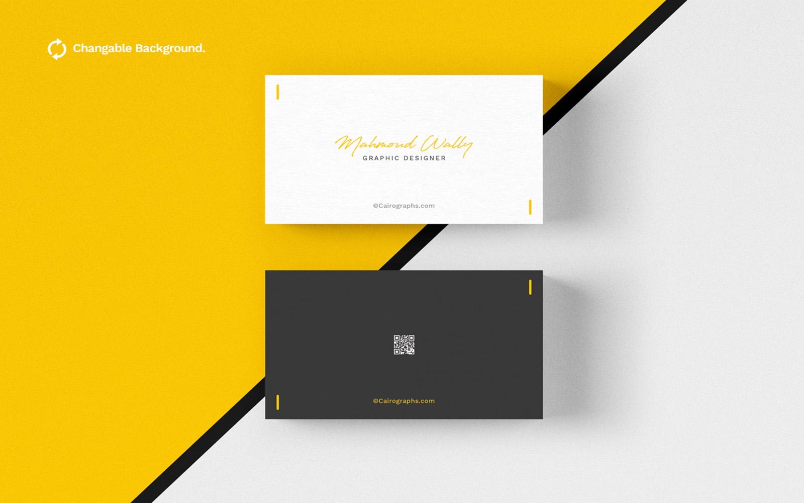Business Card Product Mockup