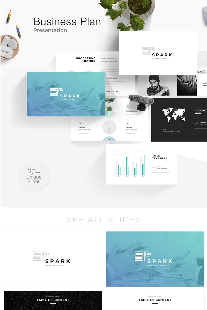 Creative and modern Presentation №110090