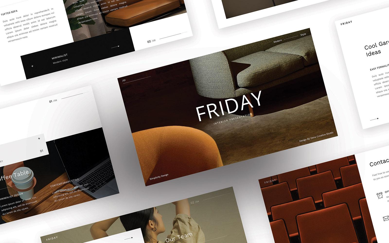 Google Slides Friday – Simple Business #110095