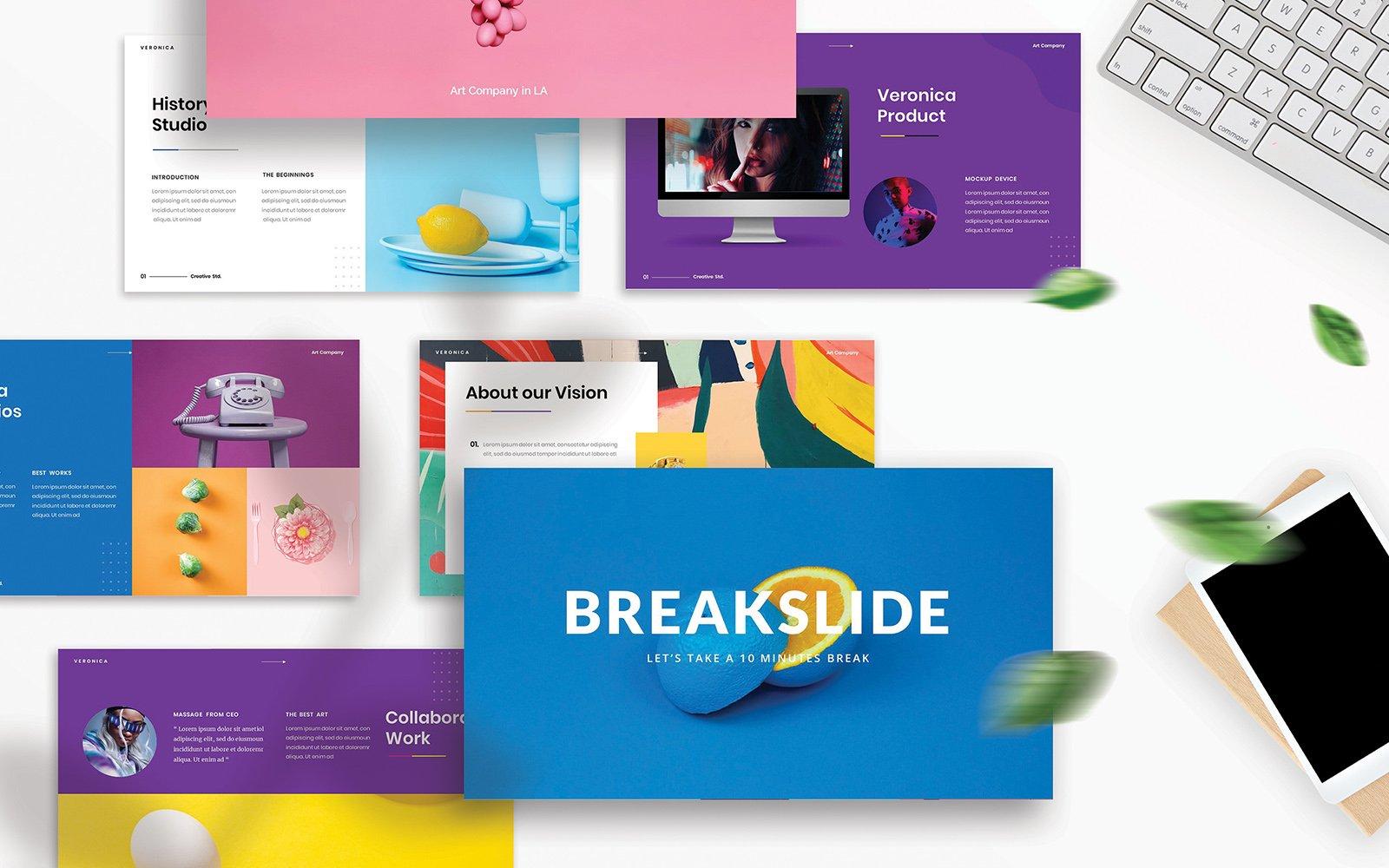 Szablon PowerPoint Veronica – Creative Business #110084