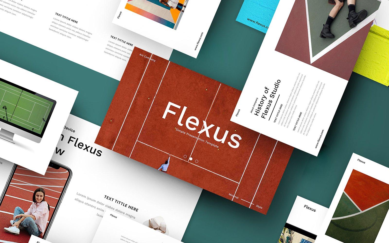 "Tema Google Slides #110094 ""Flexus – Creative Business"""