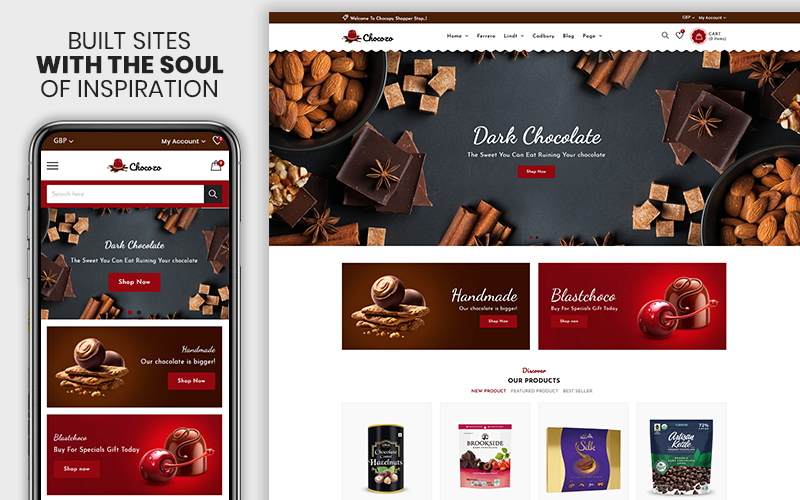 Chocozo - The Chocolate Responsive №110124