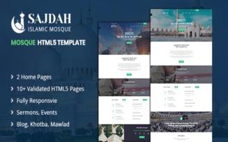 Sajdah - Mosque HTML5 Website Template