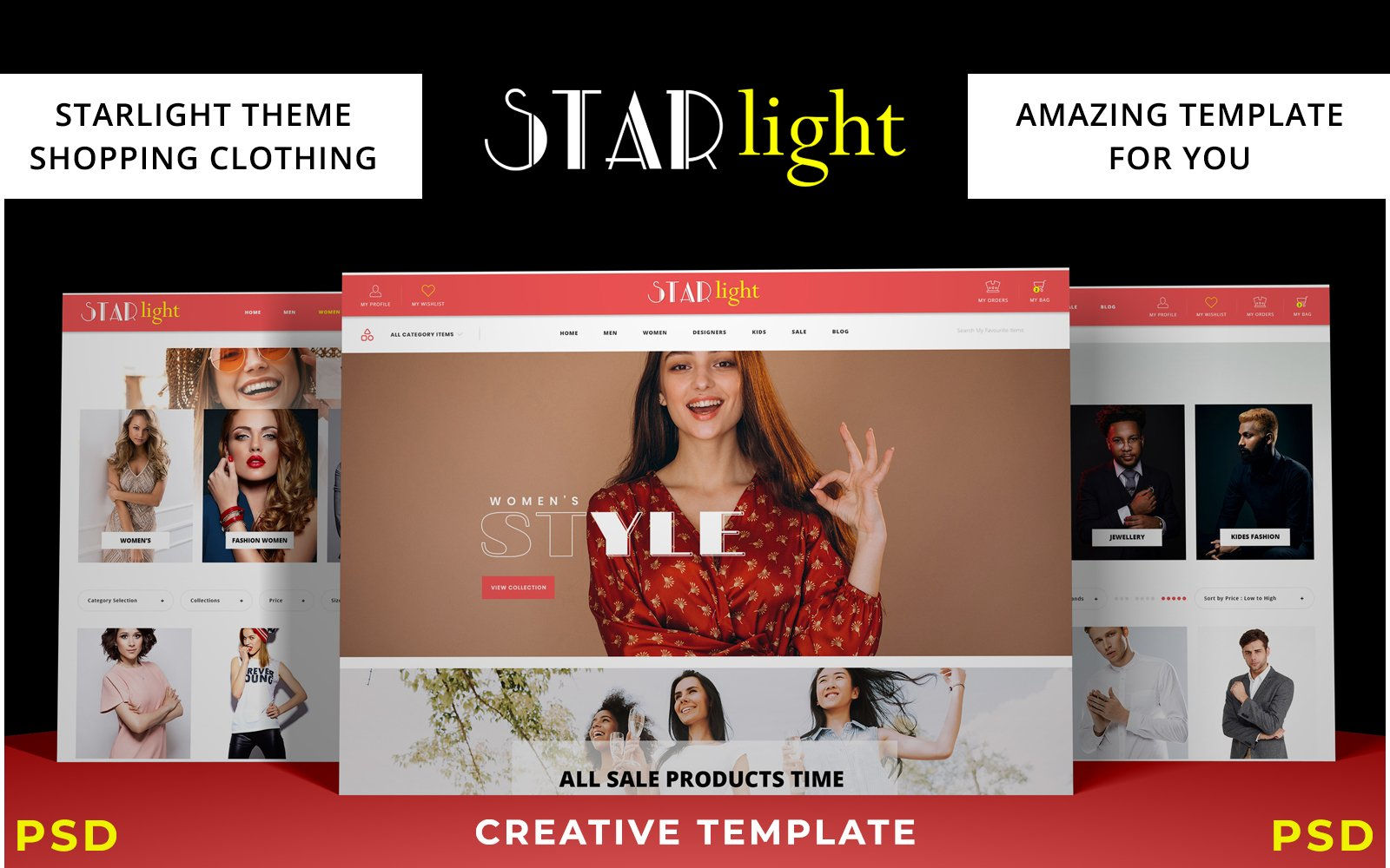 Starlight - Fashion E-commerce №110132