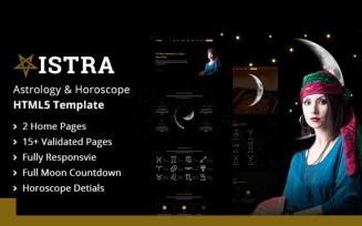 Vistra - Multipurpose Astrology & Horoscope HTML 5 Website Template