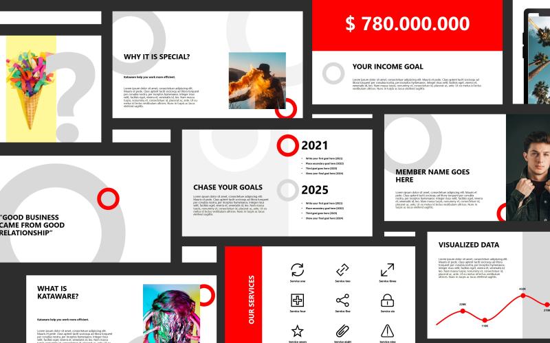 Kataware - Professional Presentation PowerPoint Template