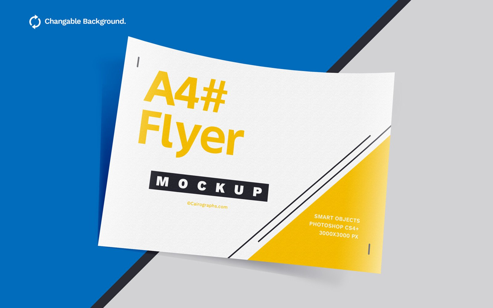 Posters & Flyers Product Mockup