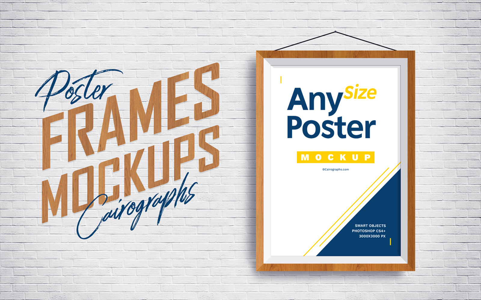 Posters Frames Product Mockup