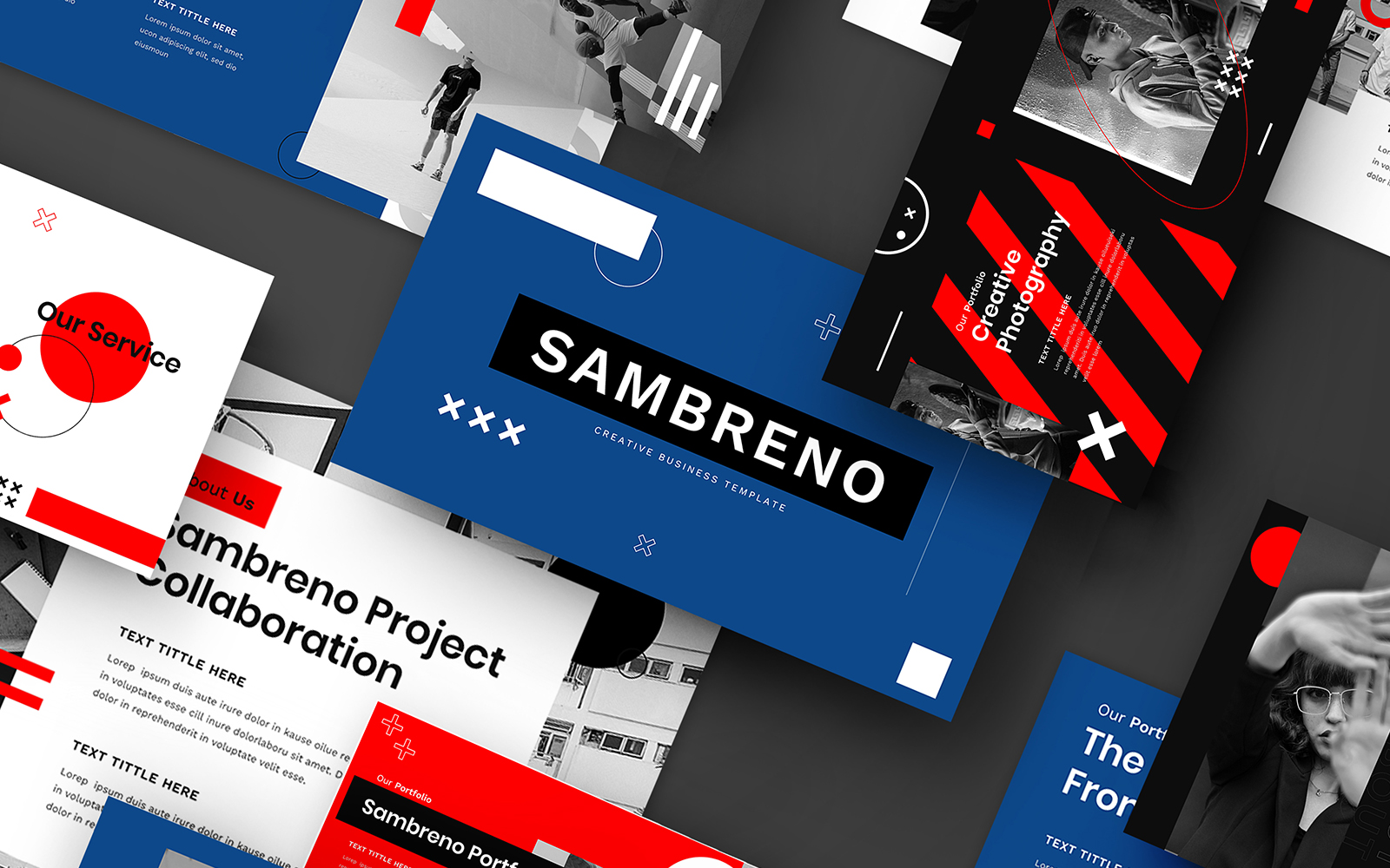 Szablon PowerPoint Sambreno – Creative Business #110285