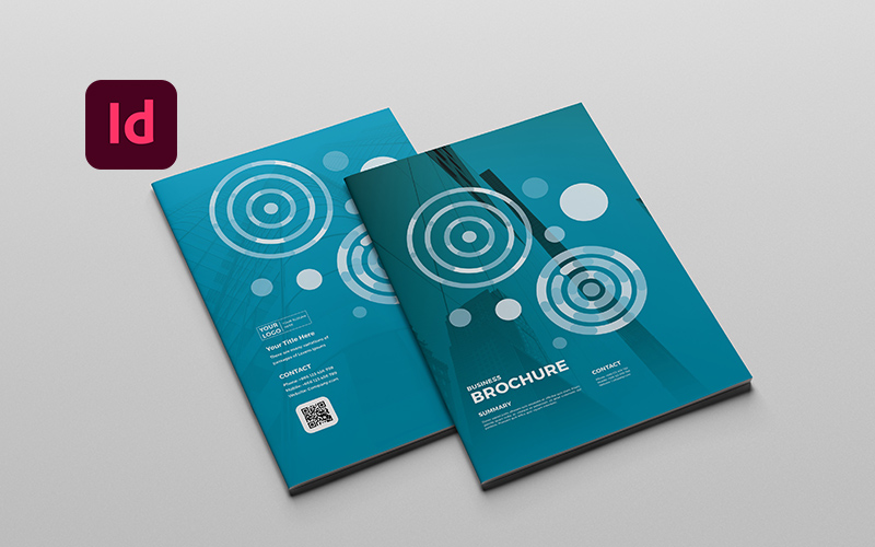 A4 Business Brochure Corporate Identity Template