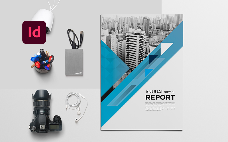Annual Report Brochure Corporate Identity Template