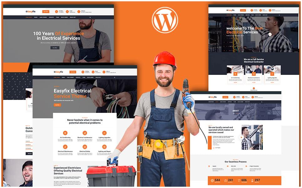 "Modello WordPress Responsive #110432 ""Easyfix - Multipurpose"""