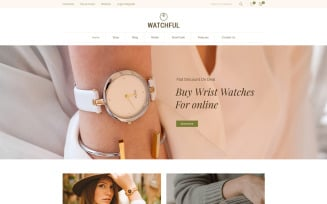 Watchful - Watch Store WooCommerce Theme