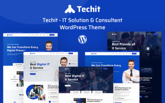 Techit - IT Solution & Consultant WordPress Theme