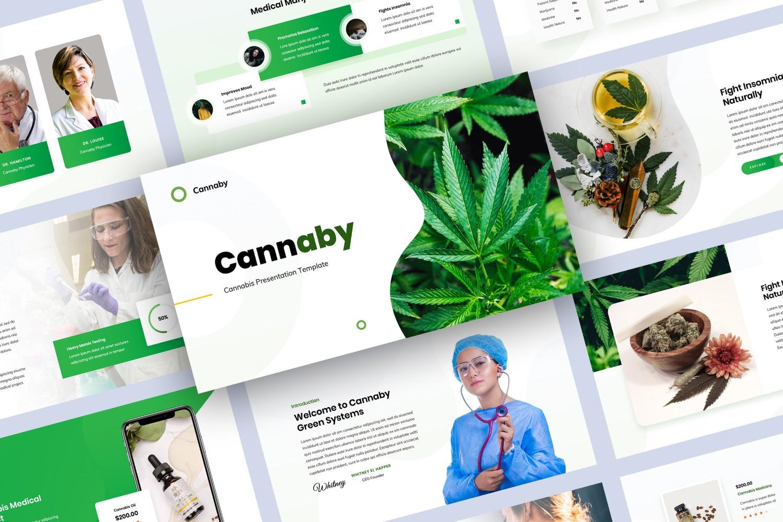 Cannabis Presentation Keynote Template