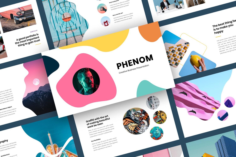 Creative Business Presentation Keynote Template