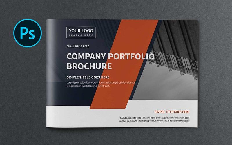 A5 Company Brochure Corporate Identity Template