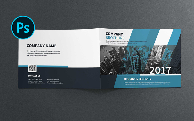 A5 Company Profile Brochure Corporate Identity Template