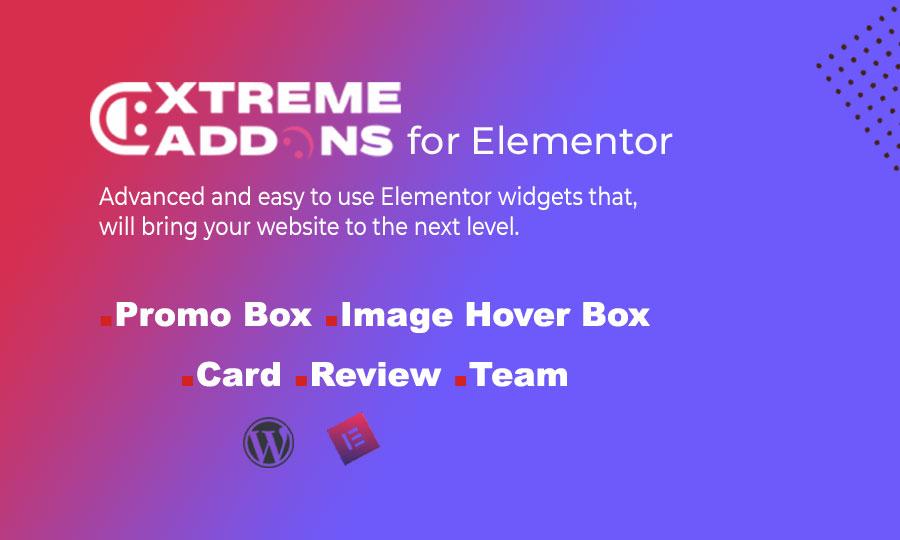 Extreme Addons for Elementor Simple Widgets WordPress Plugin Plugin WordPress №110970