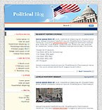 Themes for Wordpress 2.0.1 - 2.0.5: Low Budget Politics WordPress Themes