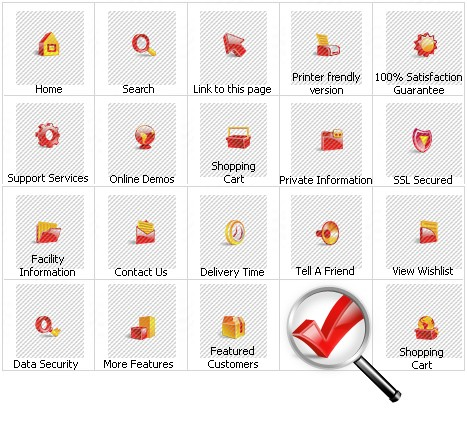 Icon Set Template 11182 Screenshots