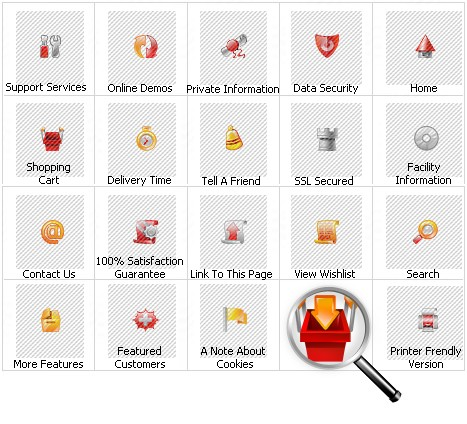 Icon Set Template 11185 Screenshots