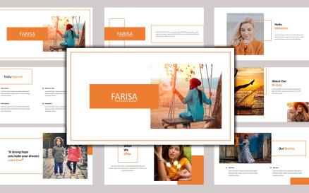 Farisa - Creative Business Google Slide