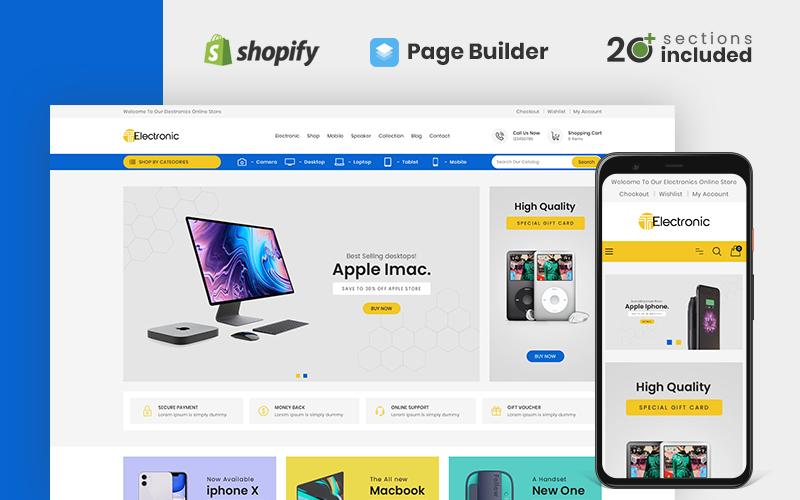 T Electronics Store Shopify Theme