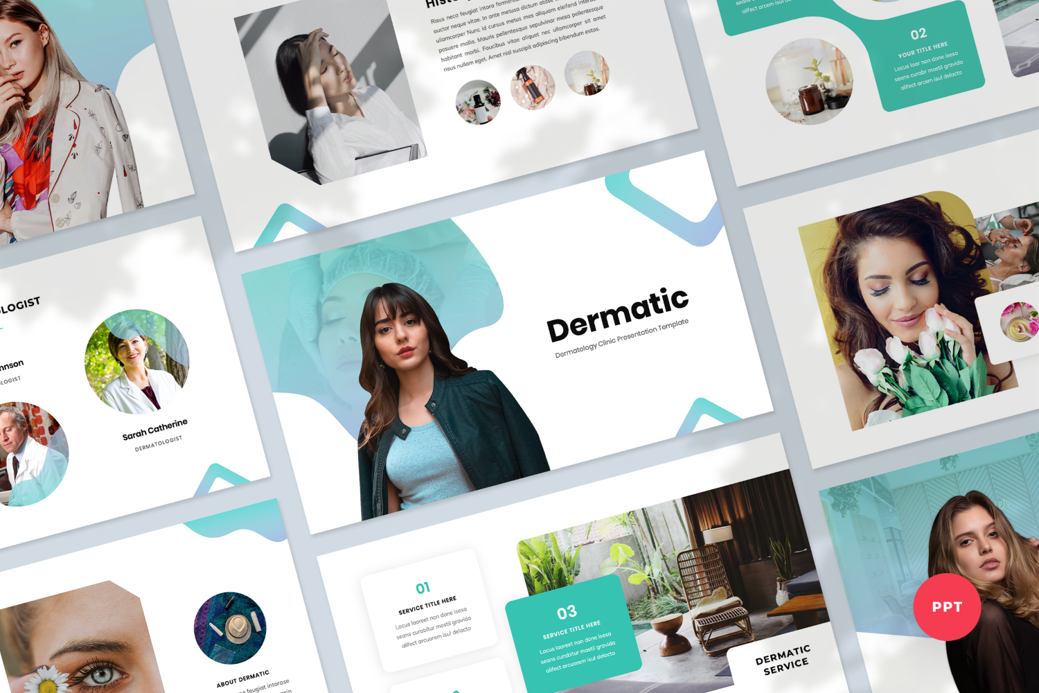 Dermatology Presentation PowerPoint Template