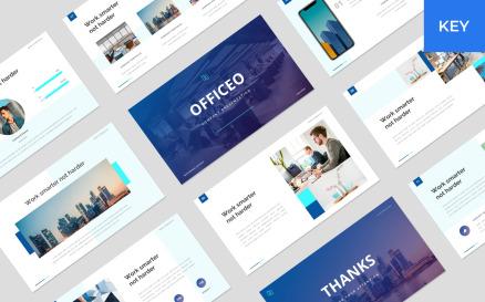 Officeo - Company Presentation Keynote Template