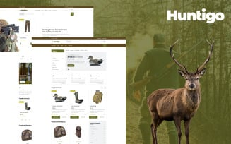 Huntigo - Hunting & Ammunition HTML Website Template
