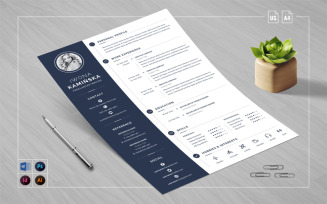 Word Cover Letter Resume Template