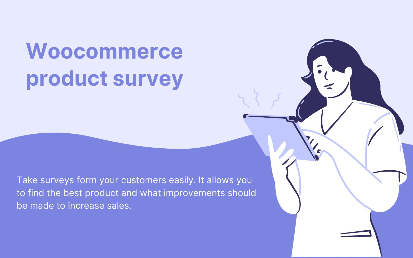 Wtyczka WordPress WC Product Survey – Woocoomerce product survey #111463