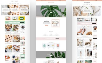 Rebecca - Blog and Shop WordPress Theme