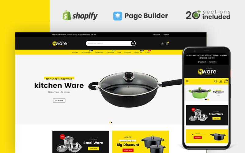 Kitchenware Multipurpose Store Shopify Theme