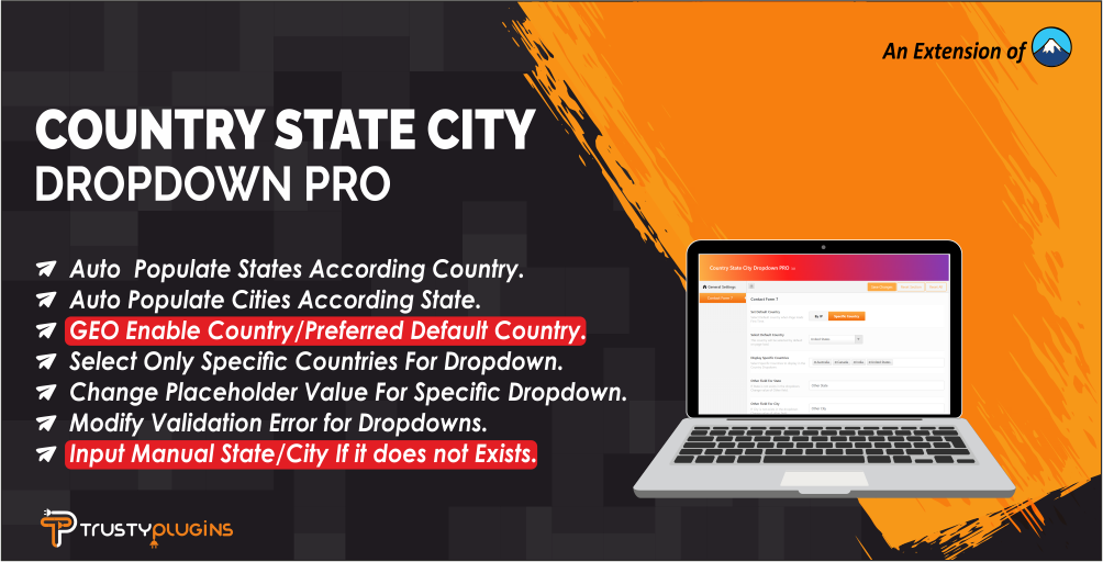 Country State City Dropdown PRO №111843