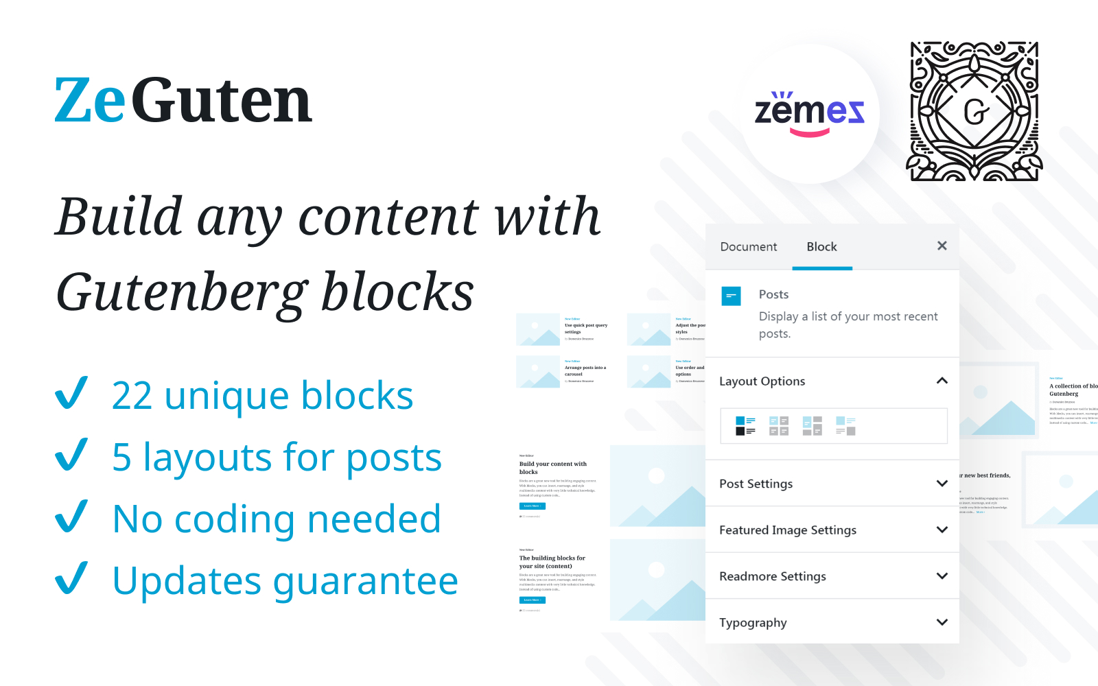 ZeGuten Gutenberg Plugin to Build a Competitive Website WordPress Plugin Plugin WordPress №112019