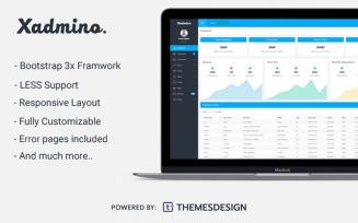 Xadmino - Admin & Dashboard